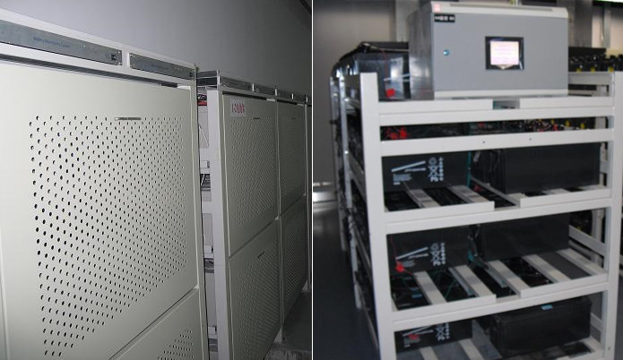 Battery rack / battery cabinet integrated installation
